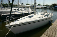 Learn to Sail / Charter/ Rent 30 foot Sailboat