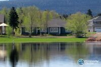 Newly built, stunning property on Humber River/Deer Lake