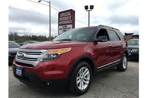 2013 Ford Explorer XLT 4WD XLT !! 7 PASSENGER SEATING !!