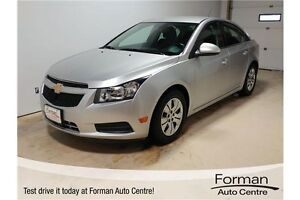 2014 Chevrolet Cruze 1LT - Low KMs | Accident-free | Remote S...
