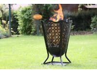Gardeco Delphi Flower Brazier Fire Pit - FREE DELIVERY