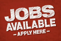 FULL TIME JOBS OPEN IN HAMILTON AND SURROUNDING AREAS