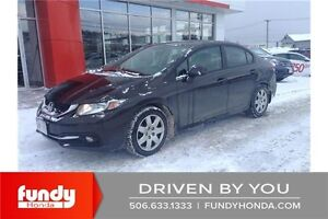 2013 Honda Civic Touring EXTENDED WARRANTY - LEATHER - NAVIGA...