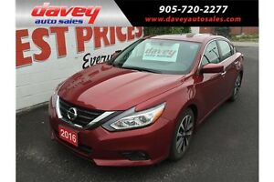 2016 Nissan Altima 2.5 SV BACKUP CAMERA, BLUETOOTH, SUNROOF