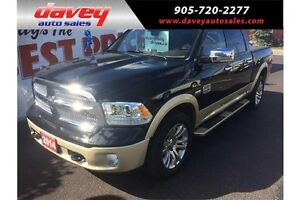 2014 RAM 1500 Longhorn SUNROOF, HEATED LEATHER SEATS, NAVIGATION