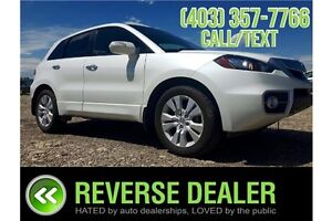 2010 Acura RDX Luxurious, Back up Camera, Sunroof