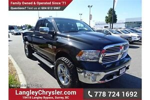 2016 RAM 1500 SLT w/Sunroof & 8.4 Touchscreen Media