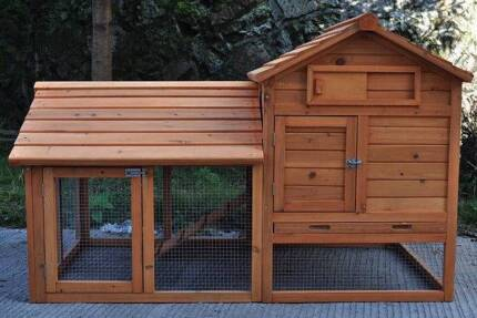 Giant Rabbit Hutch, Guinea Pig cage Ferret House or Chicken Coop Oakleigh Monash Area Preview