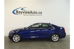 2013 Cadillac ATS - SUNROOF! HEATED LEATHER! BOSE SOUND!
