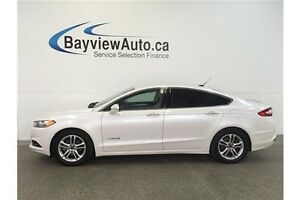 2015 Ford FUSION TITANIUM- HYBRID! LEATHER! BLIS! SONY SOUND!