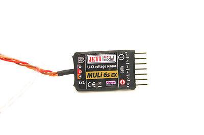 JETI DUPLEX 2.4 GHz 2.4 EX MULi 6s Spannungs Sensor