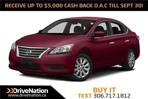 2013 Nissan Sentra 1.8 S CVT!! GREAT ON GAS! LOW KM!