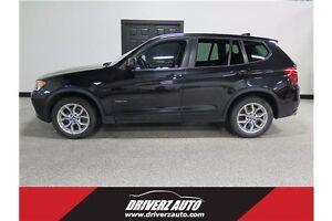 2013 BMW X3 xDrive28i AWD, LEATHER, HEATED SEATS