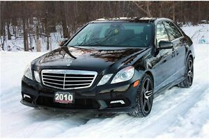 2010 Mercedes-Benz E-Class | AWD 4Matic | CERTIFIED