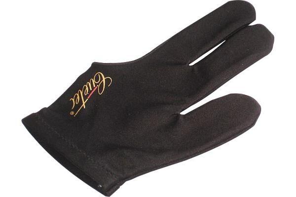 Billard Cuetec  3 Finger Handschuh schwarz  links rechts, Elastan