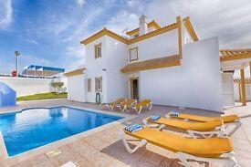 Holiday Villa Sunny Algarve Albufeira sleeps 6 +