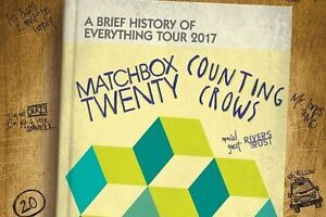 Matchbox Twenty & Counting Crows - Gold Club .. Rogers Place