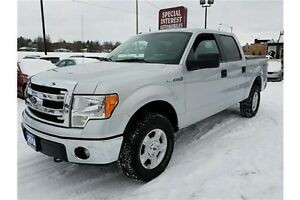 2014 Ford F-150 XLT XLT 4X4 SUPER CREW !!! ALLOYS !!! TONNEAU...