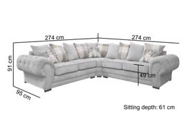 🕳️Verona🕳️ Corner Or 3+2 Sofa Sale