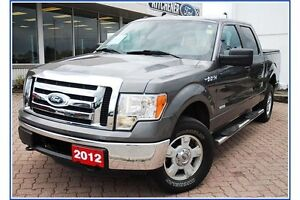 2012 Ford F-150 XLT/CREW/4X4/3.5 ECO/TOW PCKG/ALLOYS/ Kitchener / Waterloo Kitchener Area image 2