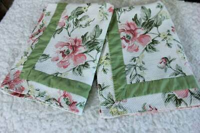 Pair Better Homes & Gardens Pink Floral Standard Pillow