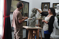 PAINTING & SCULPTING lessons in Florence, Italy