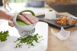 Brand New Herb Cutter By Zyliss With Stainless Steel Blades
