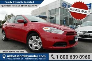2013 Dodge Dart SE/AERO w/- manual transmission & remote entry
