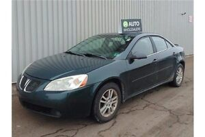 2006 Pontiac G6 Base V6 THIS WHOLESALE CAR WILL BE SOLD AS TR...