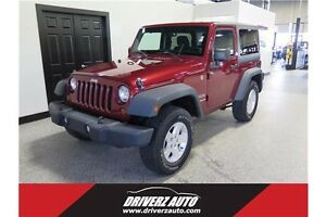 2011 Jeep Wrangler Sport HARD TOP, OFF-ROAD PACKAGE, BT