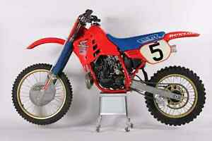Iso 1986 cr 250 engine