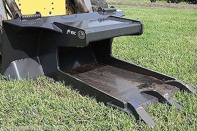 Skid Steer Concrete Claw Attachment By Ffc Driveways Sidewalk Fits All Brands