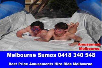 Slip and Slide Inflatable Jumping Castle Hire $350 day or o/night