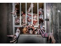 Zombie battle experience in LONDON FOR 2. Only £150 ( £75 each! )
