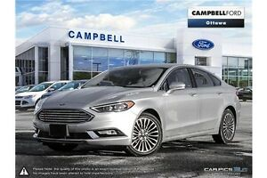 2017 Ford Fusion SE 13, 000 KMS-LEATHER-AWD-NAV