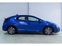 Honda CIVIC I-DTEC SE PLUS NAVI (blue) 2017