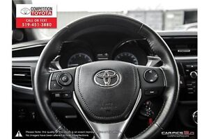 2014 Toyota Corolla S One Owner, No Accidents, Toyota Serviced London Ontario image 14