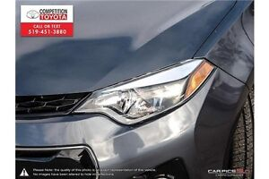2014 Toyota Corolla S One Owner, No Accidents, Toyota Serviced London Ontario image 10