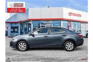 2014 Toyota Corolla S One Owner, No Accidents, Toyota Serviced London Ontario image 3