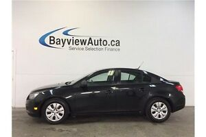 2014 Chevrolet CRUZE LS- 6 SPEED! A/C! ON STAR! BUDGET FRIENDLY!