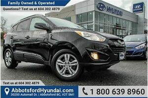 2013 Hyundai Tucson GLS CERTIFIED ACCIDENT FREE & LOCALLY OWNED