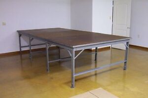 Industrial Fabric Cutting Table 8' x 16'