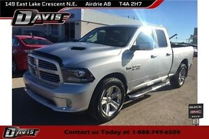 2013 RAM 1500 Sport sunroof, bluetooth, cruise control