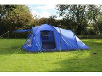 Eurohike bowfell 6 man tent Blue