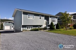3 bed on large lot, 1 bed rental apartment.