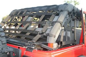 Safari Straps rear seat and trunk cargo net
