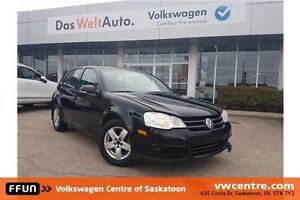 2008 Volkswagen City Golf 2.0L Fresh Trade-in with PST Paid!