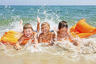 Die flachen Strände von Bulgarien sind ideal für kleine Schwimmanfänger. (© Thinkstock über the Digitale)