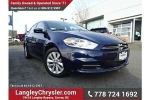 2014 Dodge Dart Aero LOCALLY DRIVEN, ONE OWNER & ACCIDENT FREE