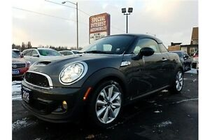 2012 Mini Cooper S COUPE S !!! TURBO !!! 6 SPEED !!!!